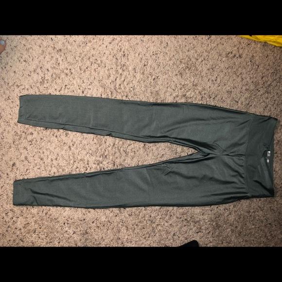 Forever 21 Pants - Forever21 Metallic leggings